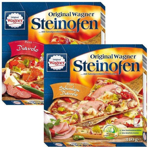 [KAUFLAND] KW09: Wagner Steinofen Pizza versch. Sorten 320-380g für 1,66€ [München+Frankfurt/Main: 1,59€] + 20€ Einkaufsgutschein ab 35 Pizzen!