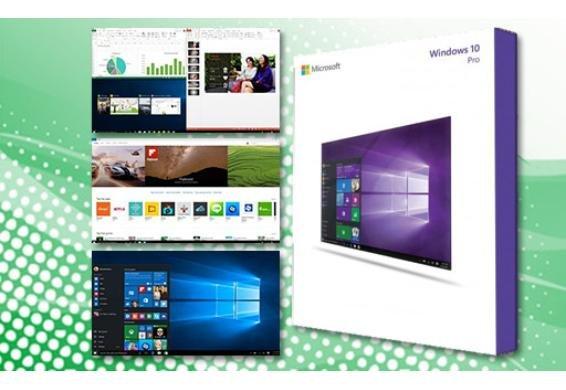 [Dealclub] Microsoft® Windows 10 Professional 32 / 64 BIT Vollversion OEM Lizenzschlüssel*Downloadkey mit Möglichkeit zur Erstellung einer Installations CD für 24,90€