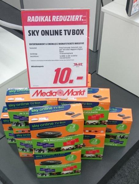 (Lokal Hamburg) Media Markt Wandsbek Sky Online TV Box inkl. 2 Monats Tickets