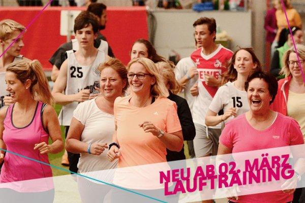 Köln : Zweimal wöchentlich kostenloses Lauftraining ab 2.3.2016 durch Sportinitiative Fit.Köln