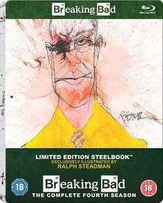 Breaking Bad Steelbook Editions als Bluray bei zavvi.de für je 13,49€