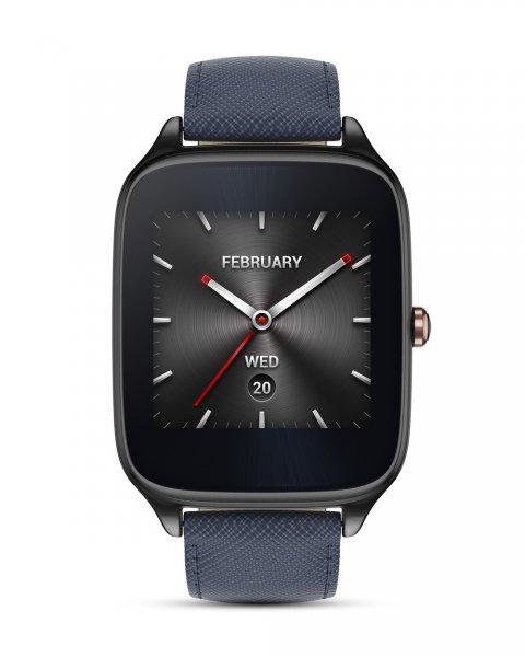 [Valmano] Asus Zenwatch 2 WI501Q Smartwatch mit Lederarmband (Android & iOS) für 143,65€