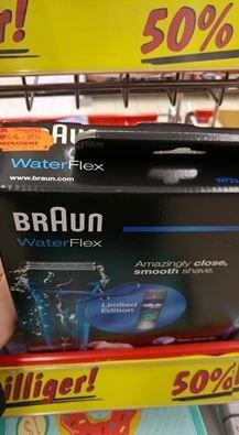 [Kaufland Hannover] Braun WaterFlex WF2s + Gillette Gel
