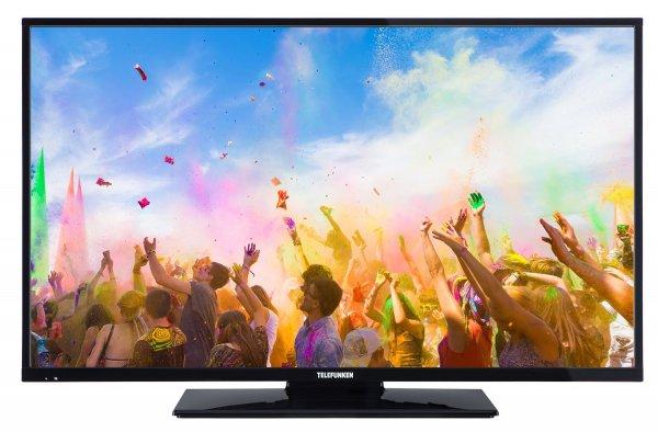 Blitzangebot: Telefunken XF43A100 110 cm (43 Zoll) Fernseher (Full HD, Triple Tuner) @309,99 inkl. Versand