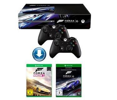 Xbox One + Forza Horizon 2 + Forza Motorsport 6 + 2. Controller für 337€ bei Neckermann.de