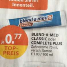 BLEND-A-MED CLASSIC oder COMPLETE PLUS - Zahncreme 75 ml