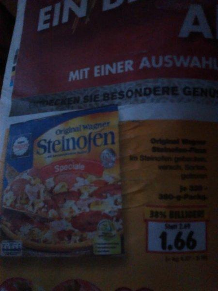 Wagner steinofen Pizza @kaufland BW 1,66€