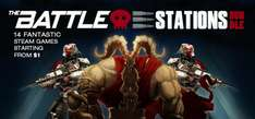 [Steam] The Battle Stations Bundle (14 Spiele, teilweise Sammelkarten) ab 0,92€ @ indiegala
