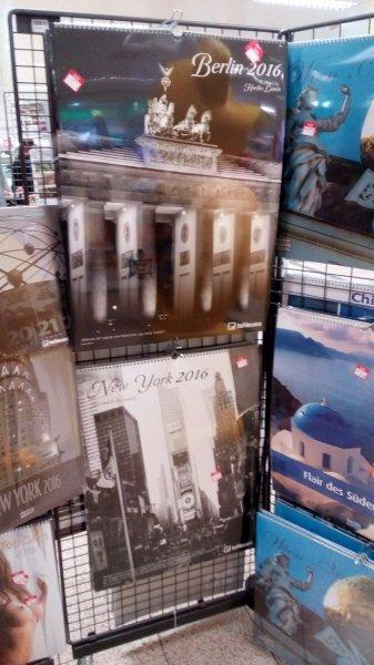 [u. a. Berlin Prerower Platz] Galeria Kaufhof: Kalender für 1,- statt bis zu 29,99€