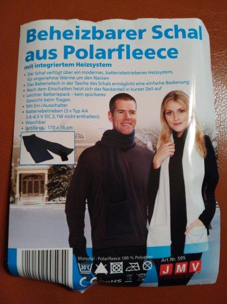 [Netto Marken-Discount Gerolzhofen] Beheizbarer Schal für 1€