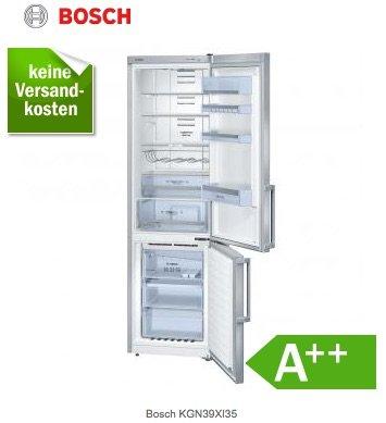 NoFrost Kühl- Gefrierkombination A++ von Bosch KGN39XI35