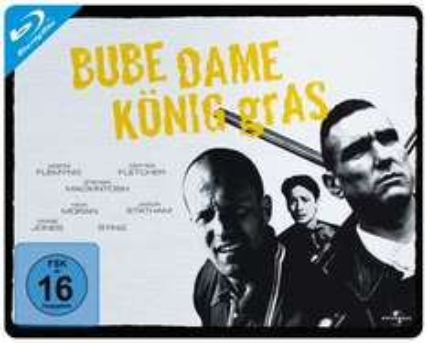 [Media-Dealer] Bube, Dame, König, Gras - Limited Quersteelbook (Jason Statham / Guy Ritchie) (Bluray) für 8,98€