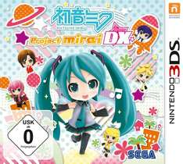 [Amazon.de / Saturn / Media Markt] Hatsune Miku: Project Mirai DX - Nintendo 3DS - für 22,00€