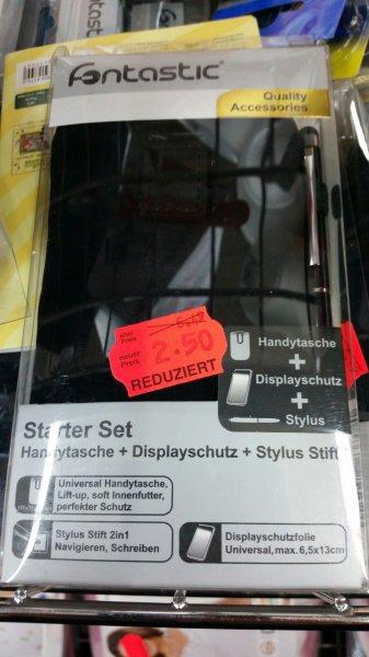 Kaufland Berlin Gutschmidtstraße Fontastic Starter Set Handytasche+Displayschutz+StylusStift von 6.5€ auf 2.5€