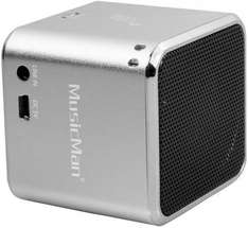 [Allyouneed] MusicMan BT-X2 Bluetooth-Lautsprecher (Line In, microSD-Slot, Aluminiumgehäuse) für 10,99€