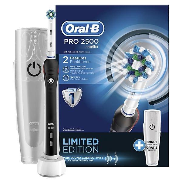 [Lokal Ulm] Elektrische Zahnbürste Oral-B Pro 2500 für 28€