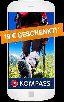[Telekom Kunden - evtl. für alle?] Komplettkarten Premium Paket für Kompass Wanderführer