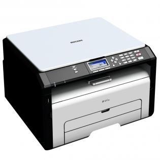 "Ricoh A4 Laser Multifunktionsgerät ""SP 211SU"" (Drucker,Scanner,Kopierer,1200x600dpi,USB 2.0) @Redcoon.de"