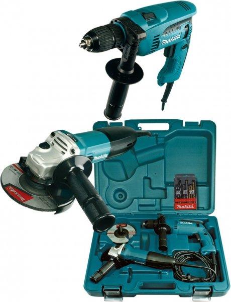 Makita DK1185 Winkelschleifer GA5030 und Schlagbohrmaschine HP1641 für 102,90 €