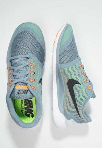 Nike Free 5.0 - dove grey/black/electric green/volt - 53,95€ evtl. - Gutschein (5,40] = 48,55