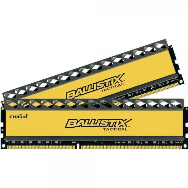 "[Conrad] PC-Arbeitsspeicher ""Crucial Ballistix Tactical"" (PC3?12800, 2x4GB, CL8, 1,5V) für 29,72€"