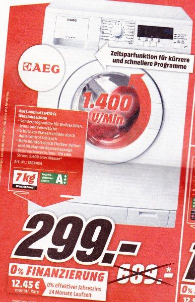(Lokal Raum AC) AEG Lavamat LG6470FL Waschmaschine bei Media Markt nur 299€