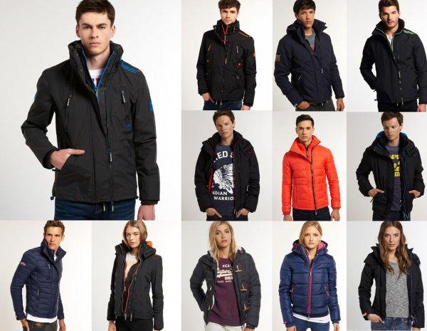 Superdry Herren & Damen Jacken über 30 Modelle/Farben 30-50% unter Idealo