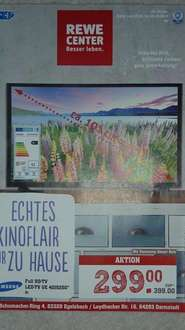 Samsung UE40J5250 FULL HD LED TV, 299€ im Rewe Center 63329 Egelsbach  & 64293 Darmstadt