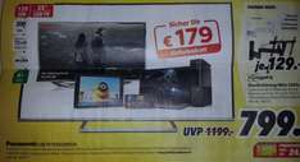 Panasonic LED TV TX55CSW524 für 799 € bei Medimax [Halle (Saale) Deutschlandweit für 849 €?]
