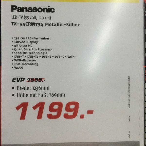 Panasonic 55CRW734 4K UHD Lokal *MEDIMAX Lüneburg*