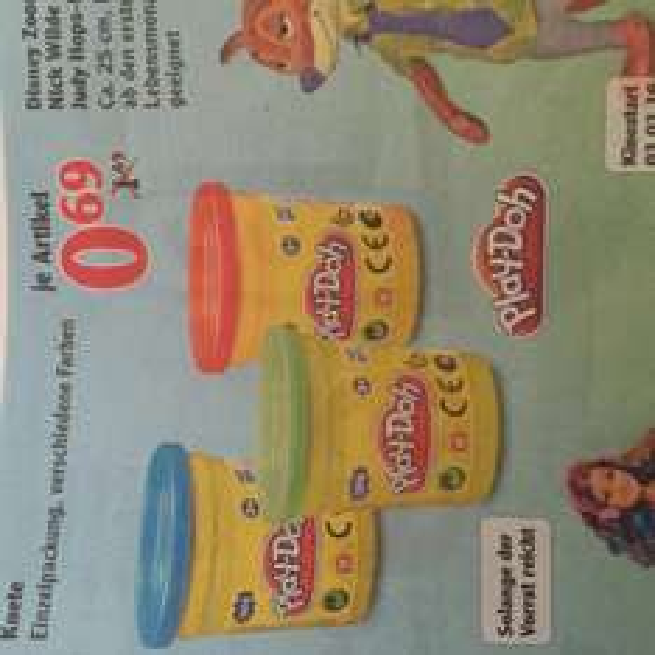 Play Doh Einzeldosen 0,69€ PVG 1,29 lokal Globus Maintal