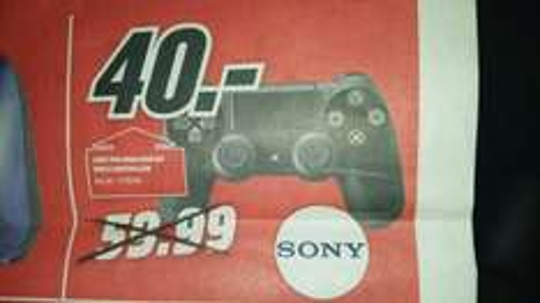 [MM Regensburg, Neutraubling] Sony PS4 DualShock nur am 29. Februar für 40 €