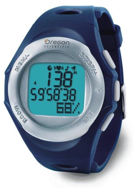 [3% Qipu] Oregon Scientific Herzfrequenzmesser SE 120 mit Brustgurtsender, blau/silber (B-Ware) für 17,95€ frei Haus @Dealclub
