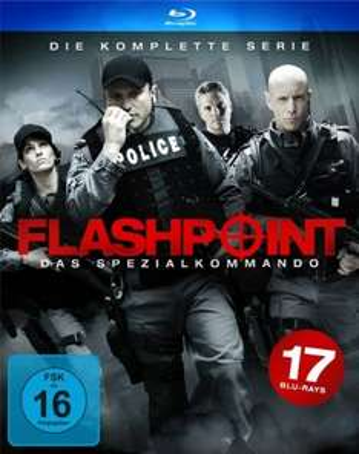 Amazon Prime: Flashpoint - das Spezialkommando. Komplette Serie auf Blu Ray