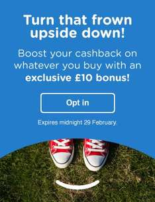 [Quidco.com] 10 GBP Prämie bei Online-Kauf von mindestens 10 GBP (bis 29. 2. 2016)