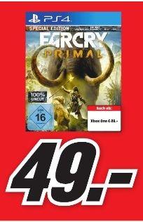 [Lokal Mediamarkt Porta] Far Cry: Primal - Special Edition (PS4 und XB1] für je 49,-€