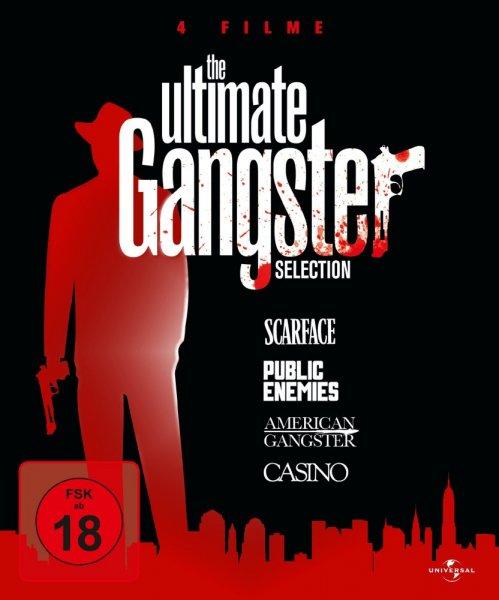 [Media-dealer.de] The Ultimate Gangster Selection (Blu-ray) (American Gangster, Casino, Public Enemies, Scarface) für 10,98€ inkl. VSK