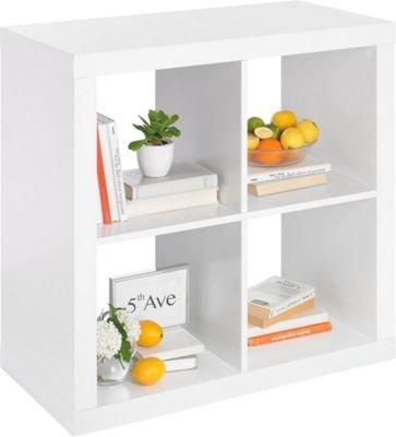 Regalelement weiß (wie Ikea Kallax) in 79/79/39 cm ab 14,90 €, in 79/149/39 cm ab 39,90 € @ xxxlshop