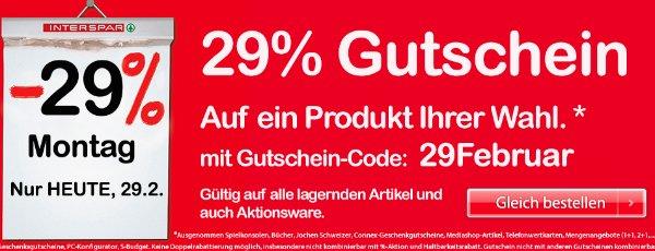 29% Rabatt auf einen Artikel bei Interspar.at - sehr günstige LEGO Produkte und Dyson Staubsauger