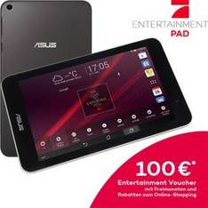 [Asus Shop] Asus ME181CX Tablet (8'' HD IPS, Intel Z3745 Quadcore, 1GB RAM, 16GB intern, Miracast + GPS, Android 4.4) für 77€