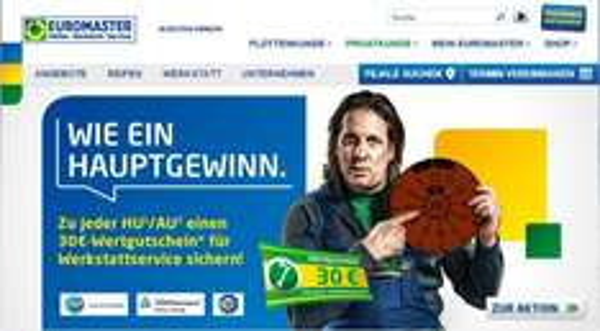 30€ Werkstattservice-Gutschein bei Euromaster zu jeder Hauptuntersuchung