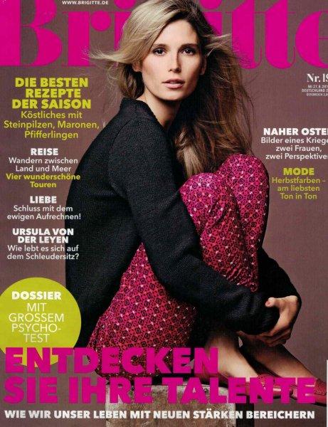 (Groupon.de) Jahresabonnement  der Zeitschrift Brigitte mit 26 Ausgaben
