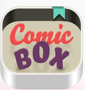 iOS und Android  COMICBOX  gratis App