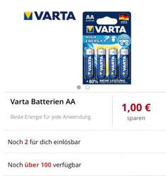[Scondoo] Varta AA Batterien High Energy (Freebies möglich?)