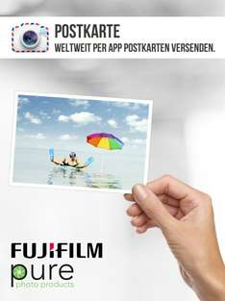 Gratis Postkarte per App versenden