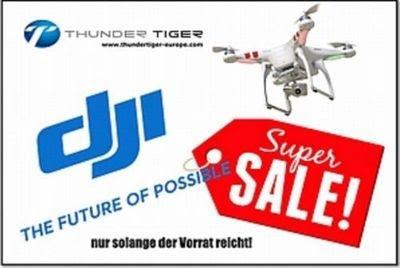 [Thundertiger] DJI Super SALE (bis zu 90% Rabatt)
