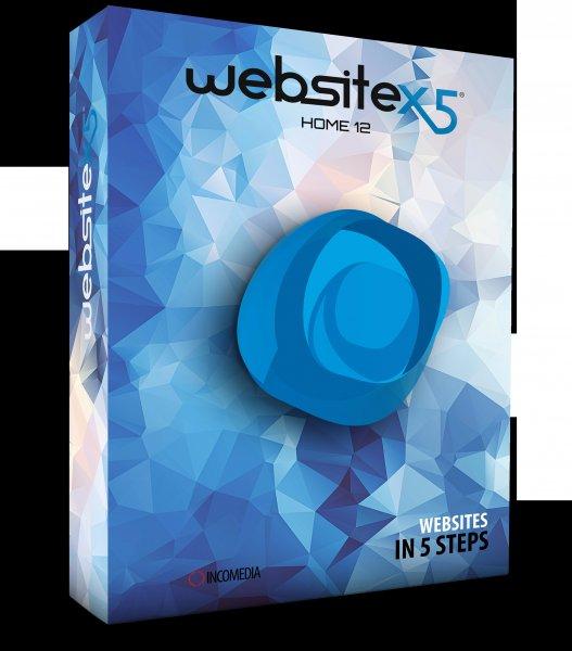 WebSite X5 HOME 12 GRATIS statt €19.99