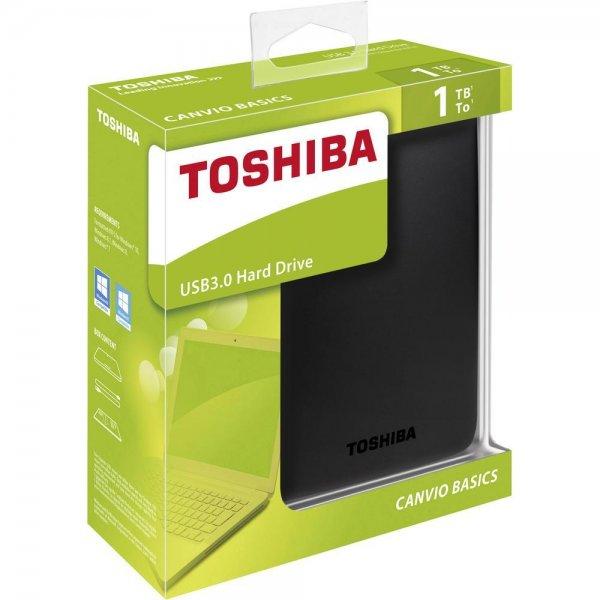 [CONRAD] Externe Festplatte 6.35 cm (2.5 Zoll) 1 TB Toshiba Canvio Basics Matt Schwarz USB 3.0 - 57,99 €