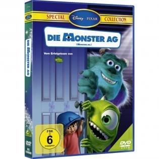 Die Monster AG (DVD Special Collection) für 2,78€ bei Redcoon.de