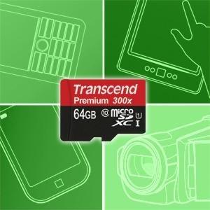 Blitzangebot - Transcend Micro SD 64 GB 16,50€ (Prime / Buchtrick)